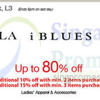 Marella, iBlues & Marina Rinaldi Promo @ Isetan Scotts 26 Sep - 9 Oct 2014