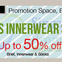 Read more about Isetan Men's Innerwear Sale @ Isetan Orchard 23 Sep - 6 Oct 2014