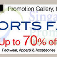 Isetan Sports Fair @ Isetan Orchard 23 Sep - 6 Oct 2014