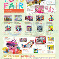 Read more about Isetan School Holiday Toys Fair 5 - 14 Sep 2014