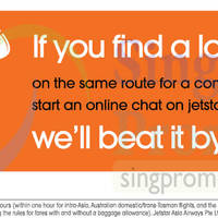 Read more about Jetstar Price Beat Guarantee 2 Sep 2014
