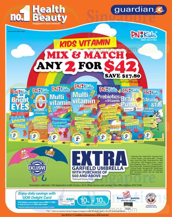 Kids Vitamins, PN Kids