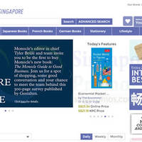 Read more about Kinokuniya Singapore Online Book Store Now Open 16 Sep 2014