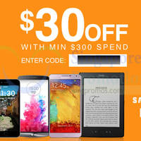 Read more about Lazada Singapore $30 OFF Mobiles & Tablets Coupon Code 29 Sep 2014
