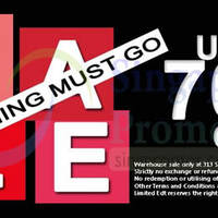 Read more about Limited EDT Warehouse SALE @ 313Somerset 6 Sep 2014
