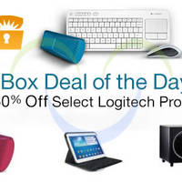 Logitech Up To 60% OFF Mouse, Keyboards, Speakers & More 24hr Promo 16 - 17 Sep 2014