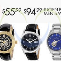 Read more about Lucien Piccard Men's Watches 24hr Promo 29 - 30 Sep 2014