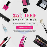 Read more about Luxola 25% OFF Storewide (NO Min Spend) Coupon Code 8 Sep 2014