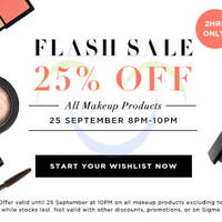 Read more about Luxola 25% OFF Makeup 2hr Coupon Code (NO Min Spend) 25 Sep 2014