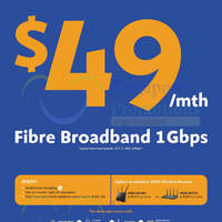 Read more about M1 NEW $49/mth 1Gbps Fibre Broadband Plan 11 Sep 2014