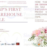 MGP Label Warehouse Sale @ Wcega Tower 27 - 28 Sep 2014