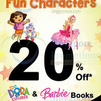 Read more about MPH Bookstores Dora The Explorer & Barbie Books Promo 1 - 30 Sep 2014