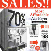 Mayer Warehouse SALE Up To 70% OFF 19 - 21 Sep 2014