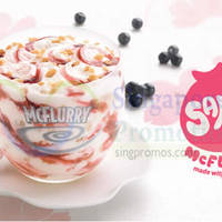 Read more about McDonald's NEW Sakura Blackcurrant McFlurry 25 Sep 2014