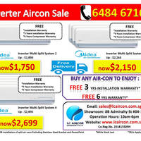 LC Aircon's New Showroom Air-Conditioner Offers 15 Sep 2014