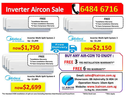 Midea Inverter Aircon