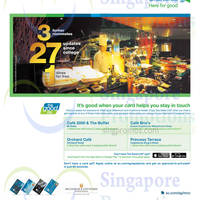 Millenium & Copthorne Intl One Dines Free For Standard Chartered Cardmembers 17 Sep - 30 Nov 2014