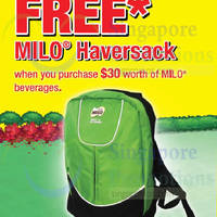 Read more about Milo Buy $30 Worth & Get FREE Haversack 2 Sep - 5 Oct 2014