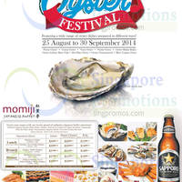 Read more about Momoji Japanese Buffet Oyster Festival 25 Aug - 30 Sep 2014