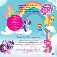 Read more about My Little Pony: Friendship is Magic @ Cathay Cineleisure Orchard 6 - 7 Sep 2014