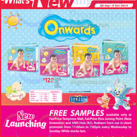 Read more about Onwards New Baby Diapers @ NTUC Fairprice 26 Sep 2014