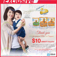 Read more about Similac Spend $100 & Get $10 Voucher @ NTUC Fairprice 19 Sep - 18 Oct 2014