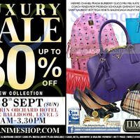 Nimeshop Branded Handbags Sale @ Mandarin Orchard 28 Sep 2014