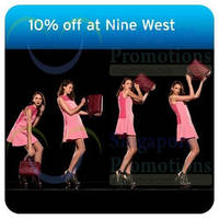 Nine West 10% OFF For Citibank Cardmembers 17 Sep - 5 Oct 2014