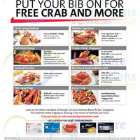 Read more about OCBC Crab Deals & Offers 3 Sep 2014