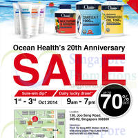 Read more about Ocean Health 20th Anniversary Sale 1 - 3 Oct 2014