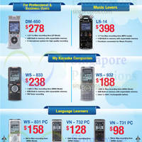 Read more about Olympus Voice Recorders 5 Sep 2014