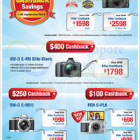 Read more about Olympus Digital Camera Offers 1 - 30 Sep 2014