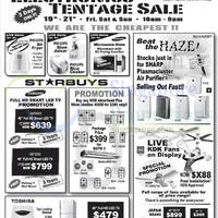 Parisilk Electronics Tentage Sale @ Bedok Central 19 - 21 Sep 2014