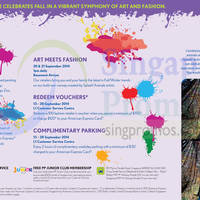 Read more about Parkway Parade Make a Splash With New Colours 13 - 28 Sep 2014