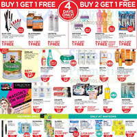Read more about Watsons Personal Care, Health, Cosmetics & Beauty Offers 25 Sep - 1 Oct 2014