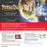 Read more about RWS Peter Pan Show Priority Sale For HSBC Cardmembers 5 - 13 Sep 2014