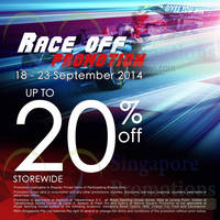 Royal Sporting House Up To 20% OFF Storewide Promo 18 - 23 Sep 2014