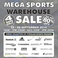 Read more about Royal Sporting House Warehouse SALE 25 - 28 Sep 2014