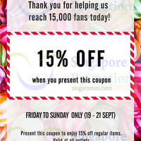 Read more about Samantha Thavasa 15% OFF Storewide Coupon 19 - 21 Sep 2014