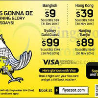 Read more about Scoot From $9 2hr Promo Air Fares 2 Sep 2014