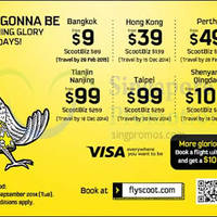 Read more about Scoot From $9 2hr Promo Air Fares 16 Sep 2014