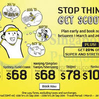 Read more about Scoot From $8 Promo Air Fares 25 - 28 Sep 2014