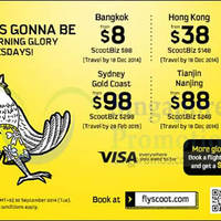 Read more about Scoot From $8 2hr Promo Air Fares 30 Sep 2014