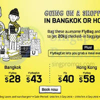 Scoot From $10 Promo Air Fares 3 - 4 Sep 2014