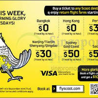 Read more about Scoot From $0 2hr Promo Air Fares 9 Sep 2014