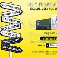 Read more about Scoot Buy 1 Get 1 FREE Promo For UOB Cardmembers 6 - 7 Sep 2014