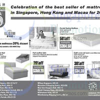 Read more about Sea Horse Mattress, Sofa & Other Offers 20 Sep - 6 Oct 2014