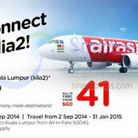 Read more about Air Asia From $48 (all-in) Promotion Air Fares 1 - 7 Sep 2014