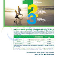 Read more about Standard Chartered Up To 1.25% p.a. Interest 2 Sep - 31 Oct 2014