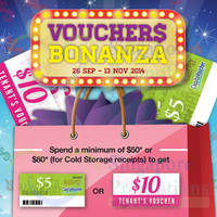 Star Vista Spend $50 & Redeem $5 Voucher 26 Sep - 13 Nov 2014